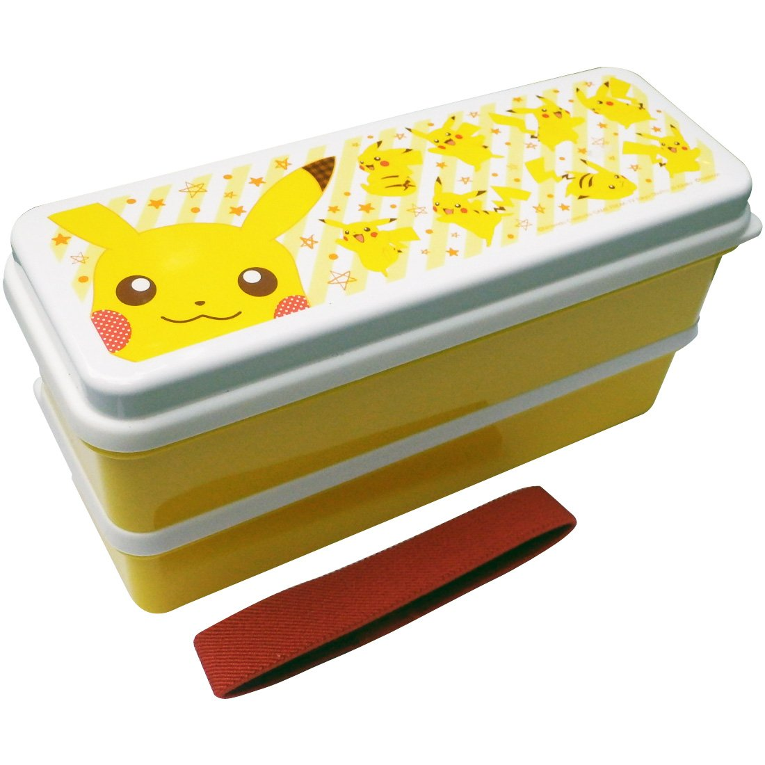 Pokemon silicon Shirubuta two-stage lunch box 630ml Pikachu full PMLC180 by Small Planet
