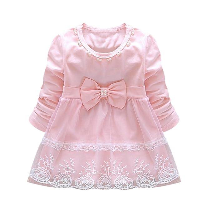 Amazon.com: wuyimc lazo de encaje tutú vestido de princesa ...