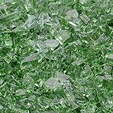 1/4'' Rainforest Green Fireglass 10 Pound Bag