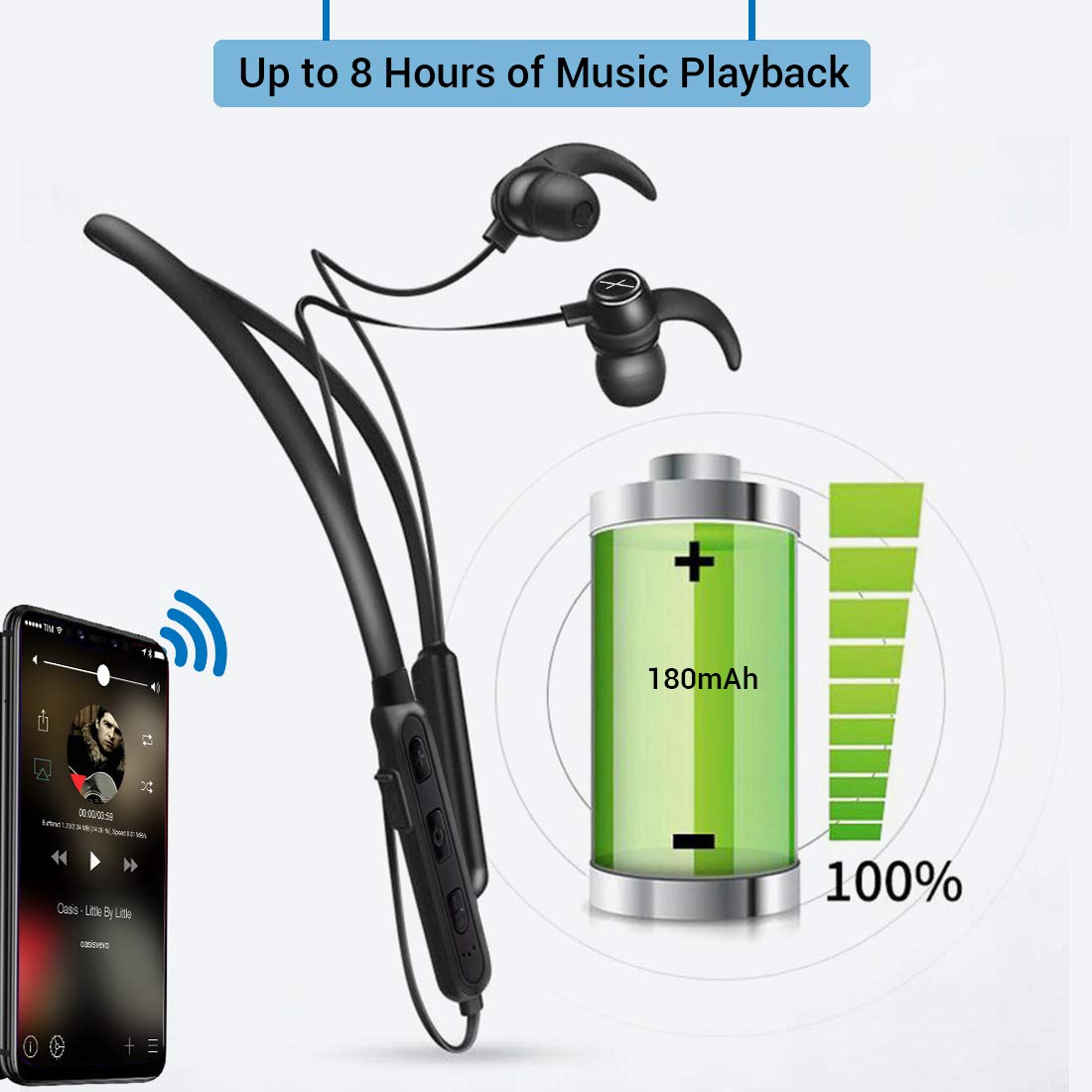 Xmate Mana in-Ear Wireless Bluetooth Headphones