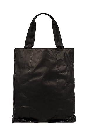 7adbe8e37f Maison Margiela Homme S55wc0024sy0568900 Noir Cuir Sac Tote: Amazon.fr:  Vêtements et accessoires