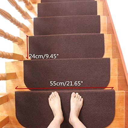 Merveilleux 15 Set Of Stair Pads Step Non Slip Self Adhesive Stair ...