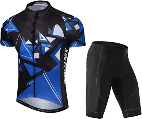 TZTED Maillot Ciclismo Hombre Verano Maillot Ciclismo(Suaves ...