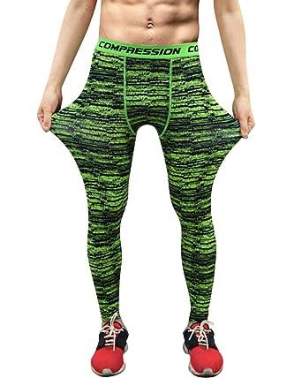 Pantalon Sport de Compression Fluorescent Leggings de Fitness Jogging Gym  pour Hommes  Amazon.fr  Vêtements et accessoires 2ad4e19ee8c