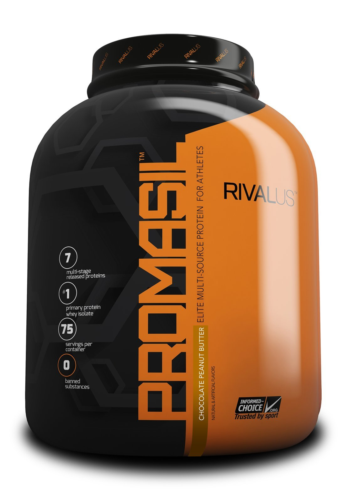 Promasil Chocolate Peanut Butter 5lb by Rivalus (Image #1)