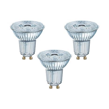 Osram 818392, Bombilla LED GU10, 3.6 W, Blanco, 3 Unidades
