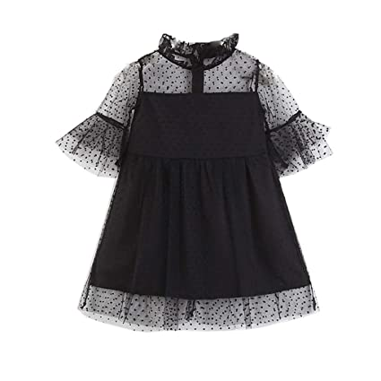 27e71fafe Amazon.com  EnjoCho Family Matching Outfits Spring Summer Girls Lace ...