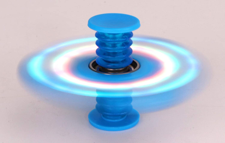 Bounce Saut 5 en 1 Fidget Spinner Toyland Spinnerooz Blue Light Up Jouet de nouveaut/é Spinner /à la Main Spin