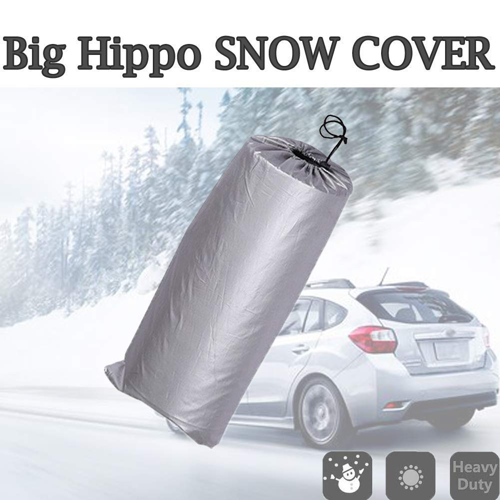 Van 78.5 x 38.5 Van 78.5 x 38.5 4350433344 Truck Big Hippo Windshield Snow Cover,Car Windshield Cover Keeps Ice /& Snow Off,Thickened Waterproof Double Side Design Snow Cover /& Sun Shade Protector Fits Most Car SUV