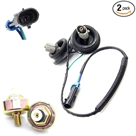engine dual knock sensors + wire harness 12601822 10456603 for chevy  suburban chevrolet silverado avalanche tahoe