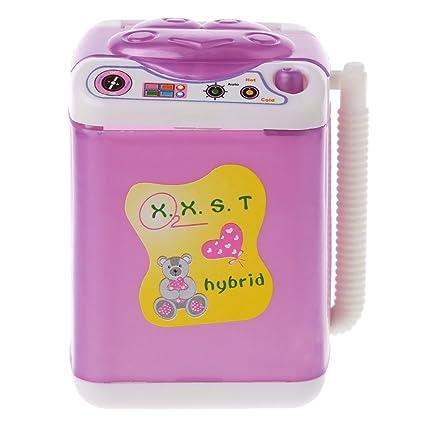 Kalttoy Mueble Lavadora para Barbie Muñeca Casa Bebé Juguetes Muñeca Accesorios