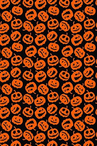 Halloween Pumpkin Trick or Treat pattern Heat Transfer Vinyl Sheet for Silhouette 12