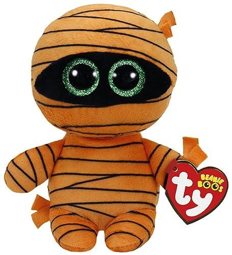 e774be054ba Ty Beanie Babies Boos 37241 Mask The Orange Mummy Halloween Boo ...