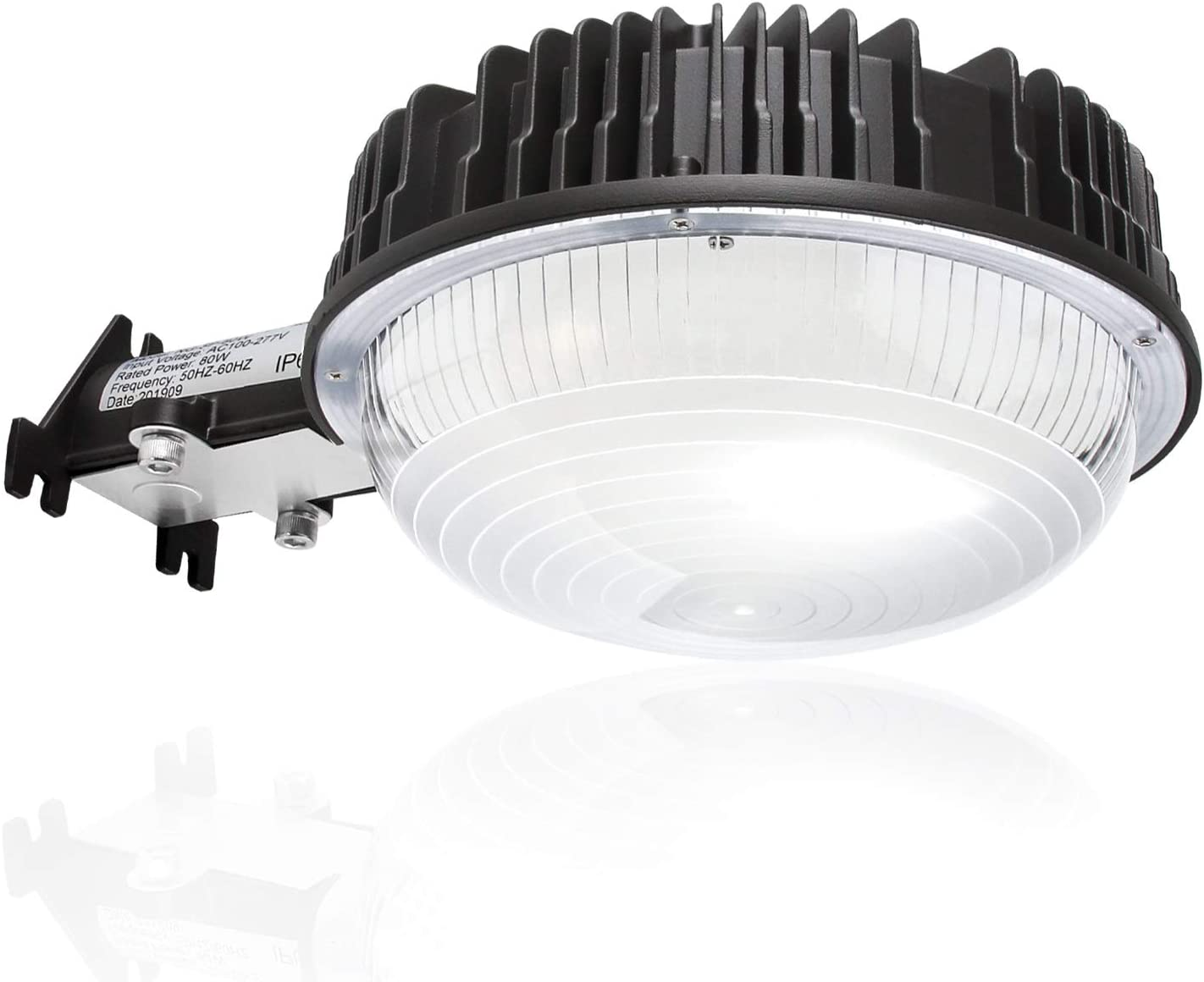 5000K Daylight IP65 Waterproof ETL/&DLC Listed for Yard Street Flood Lights DuuToo LightPRO 70W 9900LM LED Barn Lights Dusk to Dawn Outdoor Area Lights with Photocell 700W Incandescent Equiv.