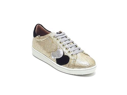 Twin Set - Zapatillas para Mujer Dorado Dorado 40: Amazon.es: Zapatos y complementos