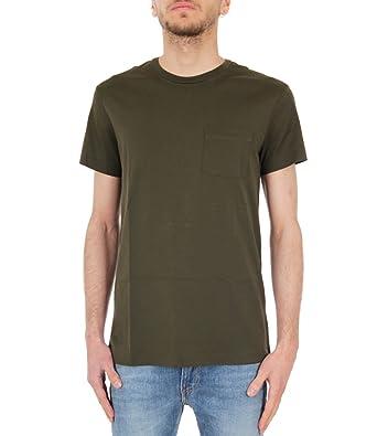 Polo Ralph Lauren T-Shirt in Cotone Pima con tasca Uomo Mod ...