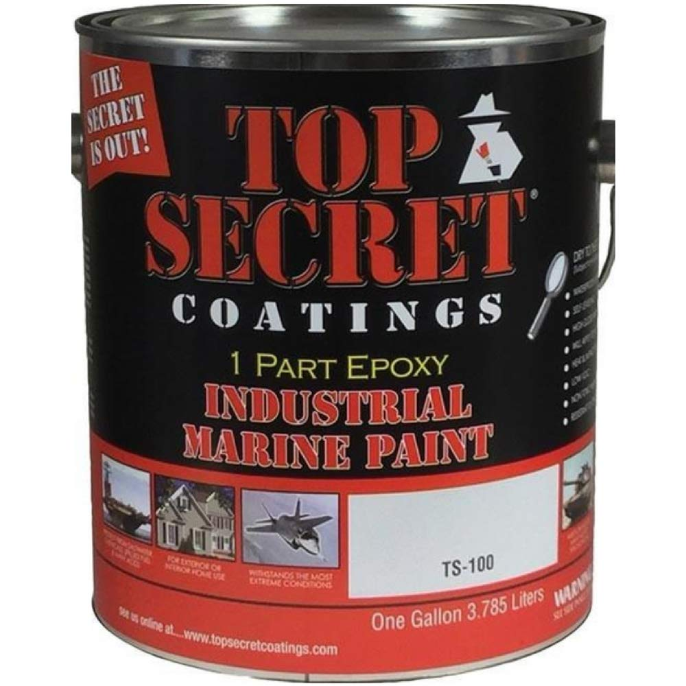 Silicone Epoxy Paint - Quart - Flat or Gloss Finish (Safety SC Yellow - Flat Finish)