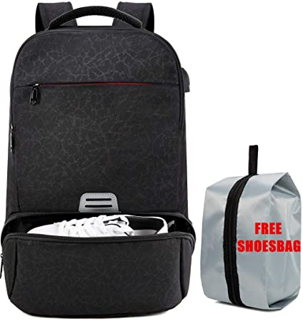 Men Laptop Backpacks USB Charge Business Rucksack Travel Bagpack Casual Daypacks