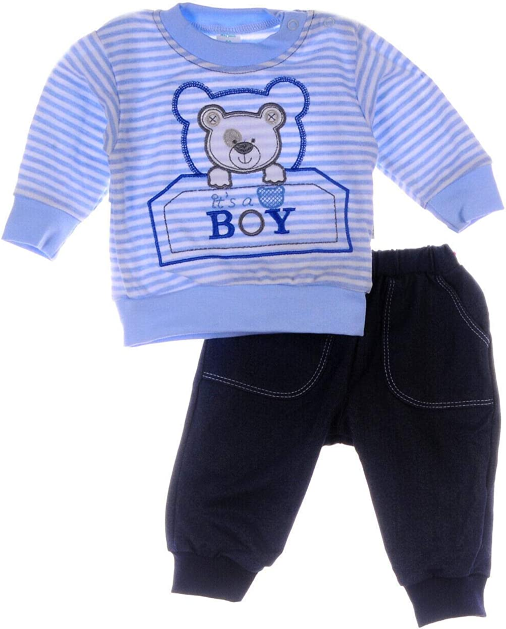 Anzug Pullover Hose Baby Set 62 68 74 80 86 Shirt Jogginganzug Kombi Zweiteiler