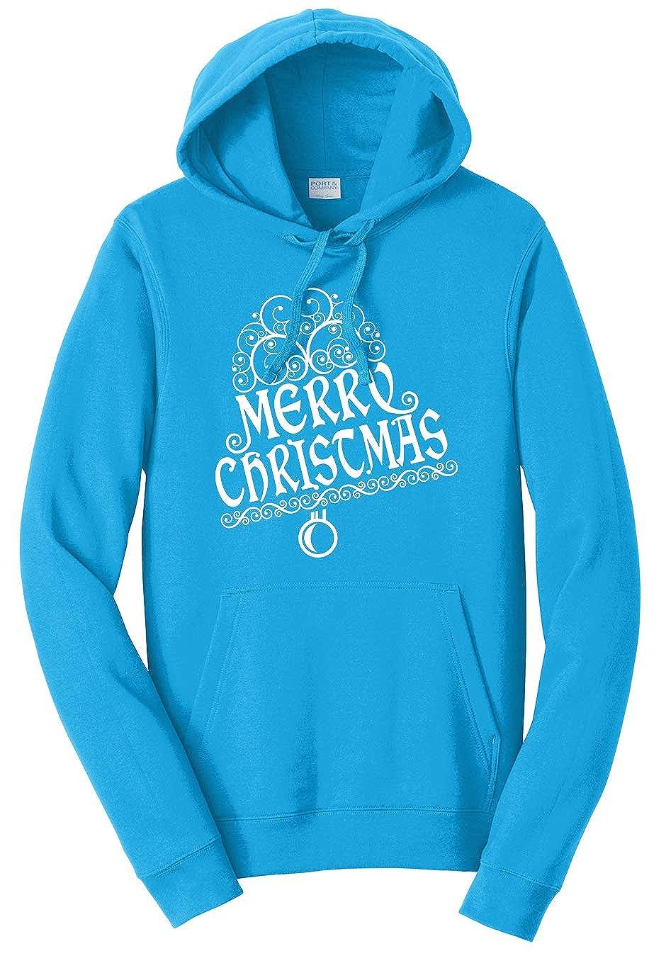 Tenacitee Unisex Merry Christmas Bell Sweatshirt