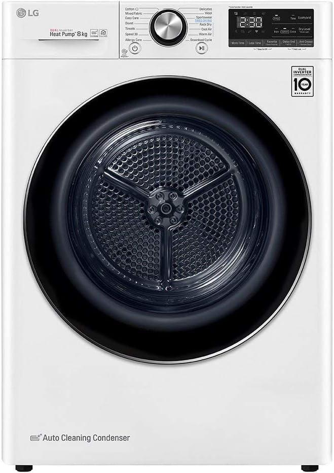 LG Secadora RC80V9AV4Q 8K A BLAN DSP WiFi