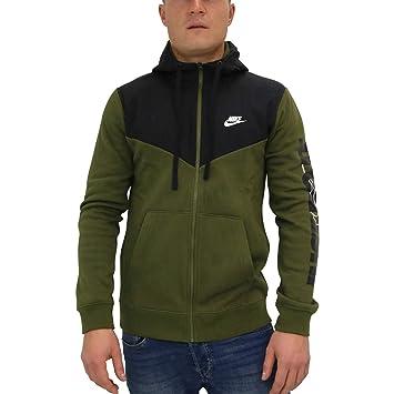 6ece8e88ff53 Nike Herren Full-Zip Hbr+ Kapuzenjacke,  Amazon.de  Sport   Freizeit