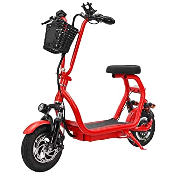 GREATY Patinete Scooter con Asiento, Portátil Plegable, 25 ...