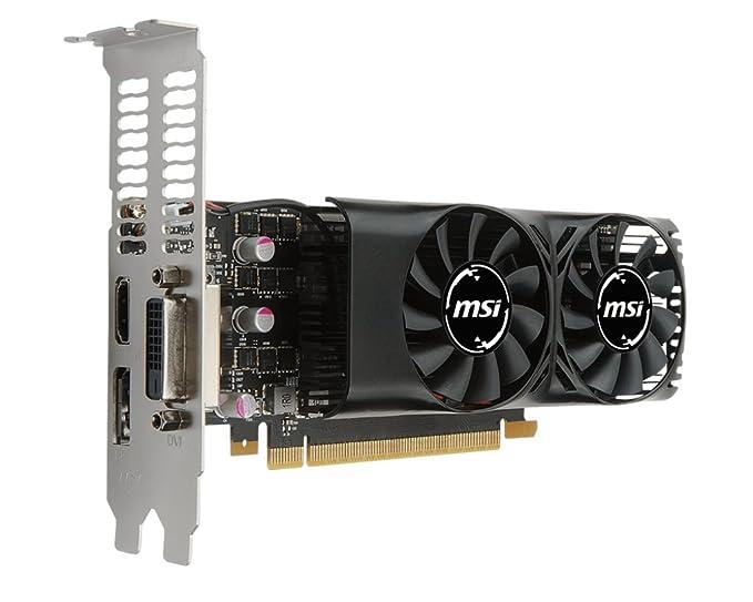 MSI GTX 1050 Ti 4GT LP GeForce GTX 1050 Ti 4GB GDDR5 - Tarjeta gráfica (GeForce GTX 1050 Ti, 4 GB, GDDR5, 128 bit, 7680 x 4320 Pixeles, PCI Express ...