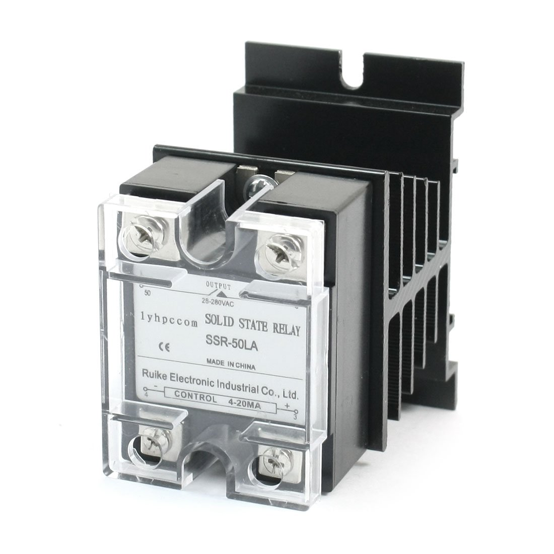 Uxcell Solid State Relay with Heatsink