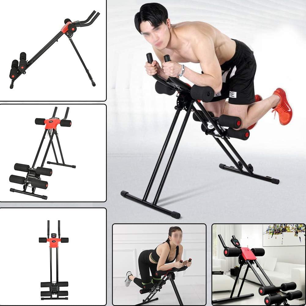 YORKING Bauchtrainer R/ückentrainer Shaper Sportger/ät Muskeltrainer f/ür Seitliche Bauchmuskeln