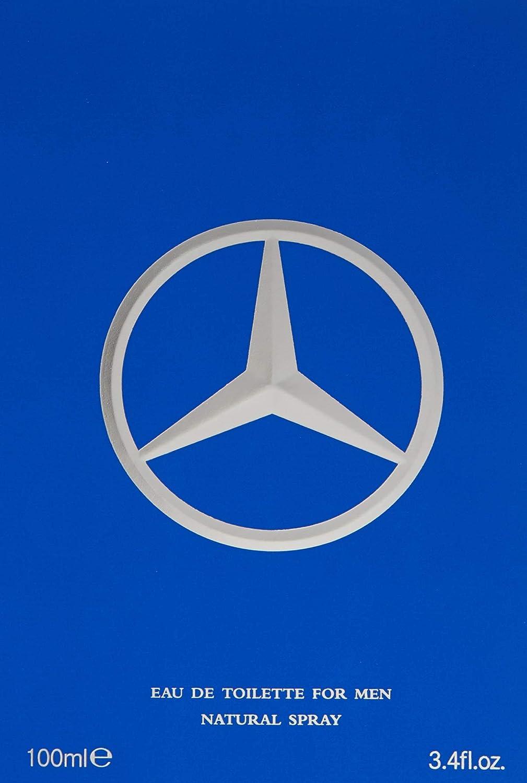 Mercedes Benz Man Eau de Toilette Spray for Men Aromatic Scent 3.4 oz