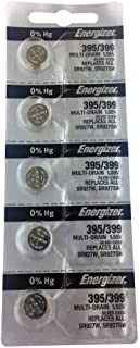 product image for Energizer 395/399 Silver Oxide 5 Batteries (SR927W / SR927SW)