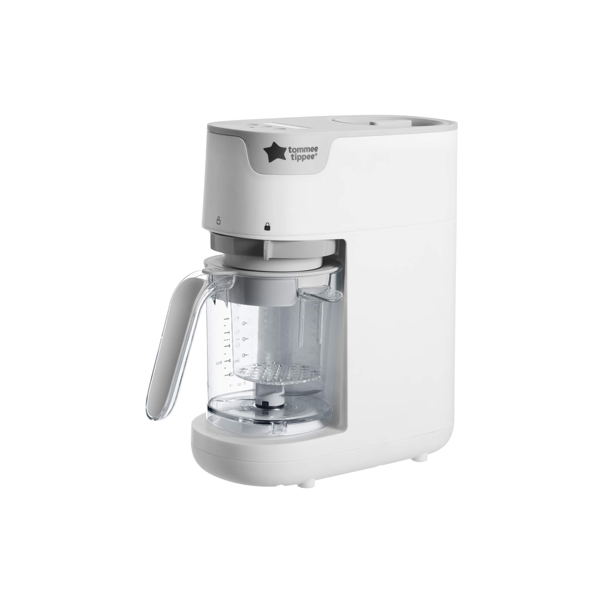 Tommee Tippee Quick Cook Baby Food Maker, White by Tommee Tippee
