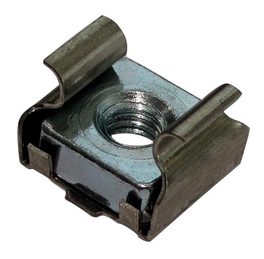 AERZETIX: 5x Tuercas de jaula M5 L13.2mm H8.8mm para chapa metalica 0.7-1.6mm C19182 C19182-AQ161 x5