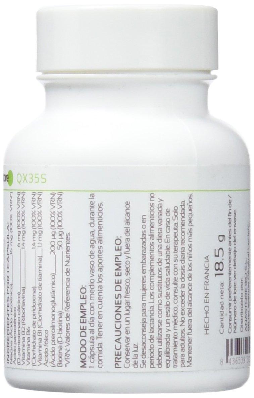 Anastore Complejo de Vitaminas B 500 mg - 30 Cápsulas: Amazon.es: Salud y cuidado personal