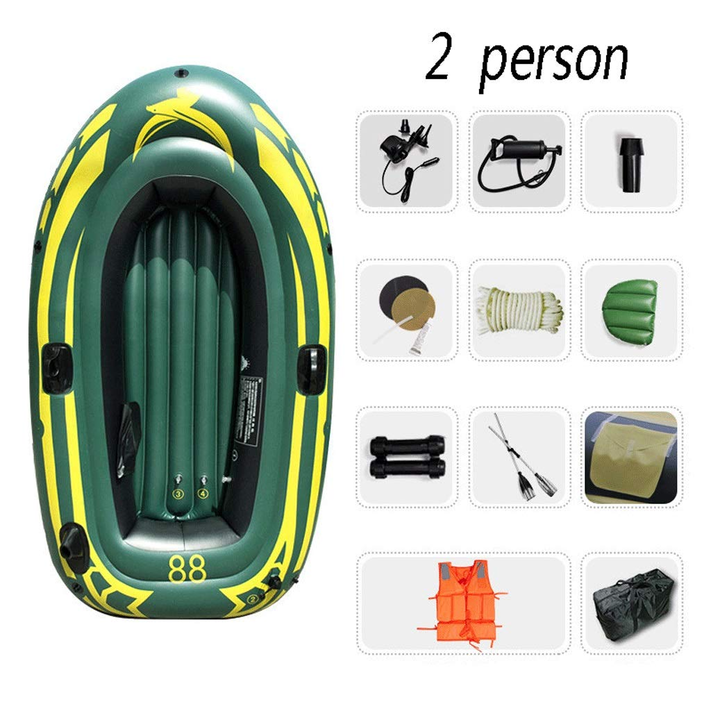 Juego de Kayak Inflable for 2 Personas con Bote Inflable ...