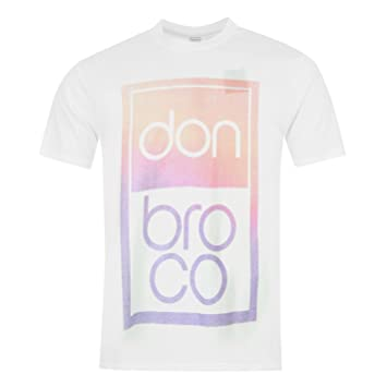 Don Broco Official Band T-Shirt Mens White Music Top Tee T Shirt Small