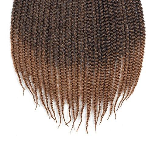 vrhot 6packs 18 box braids crochet hair small synthetic