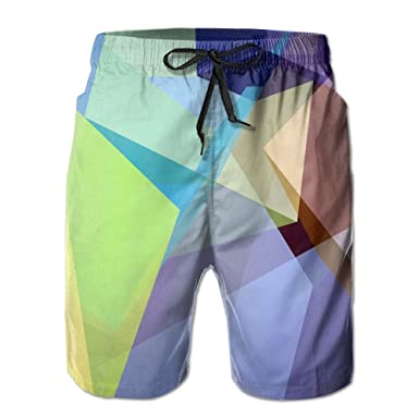 f371f55ca8 PIN Lightweight Quick Dry Red Cube Cube World Beach Shorts Swim Trunks  Beach Pants | Amazon.com