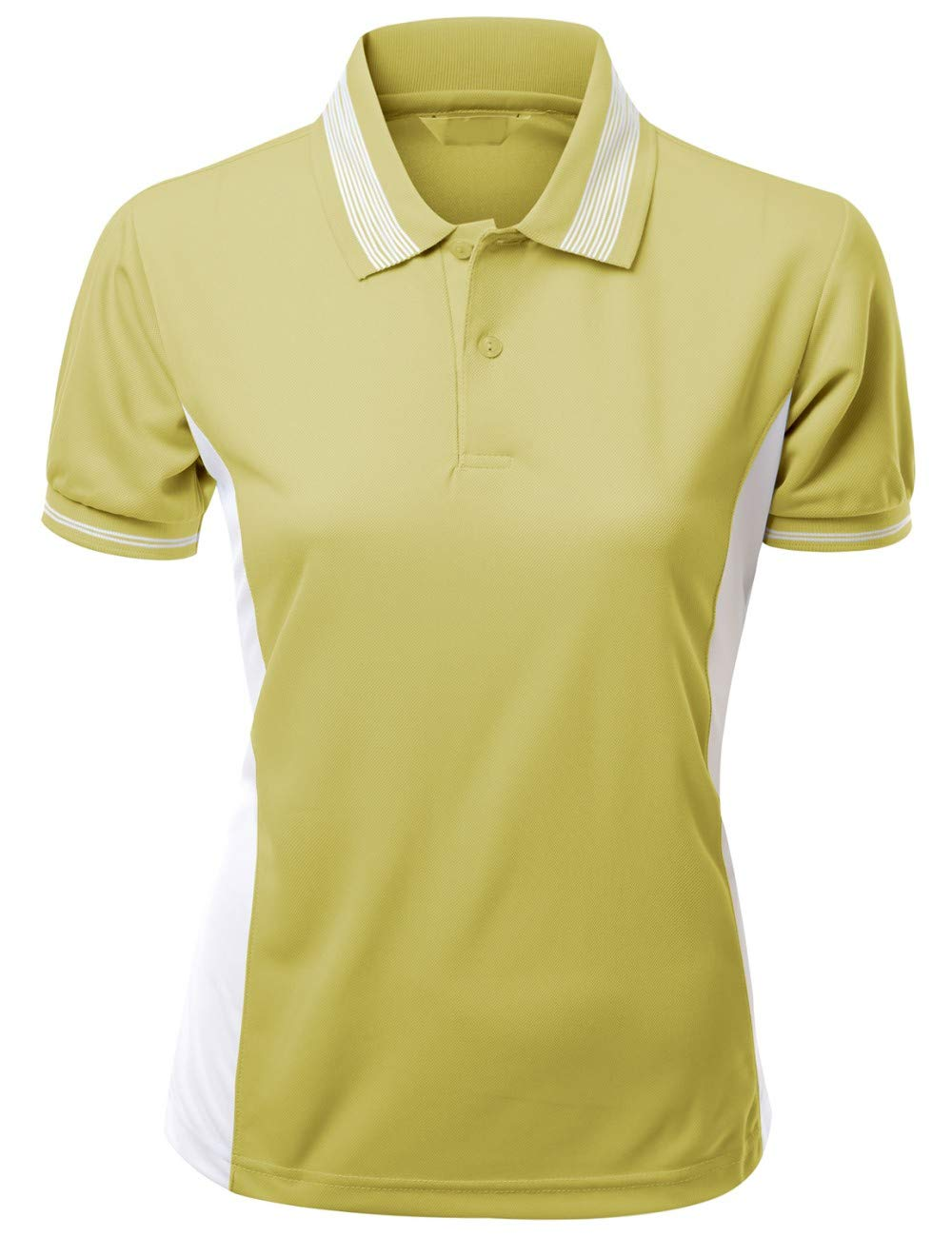 Womens Coolmax Fabric Sporty Feel Polo T-Shirt with Collar Design