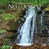 New Jersey Wild & Scenic 2020 7 x 7 Inch Monthly Mini Wall Calendar, USA United States of America Northeast State Nature