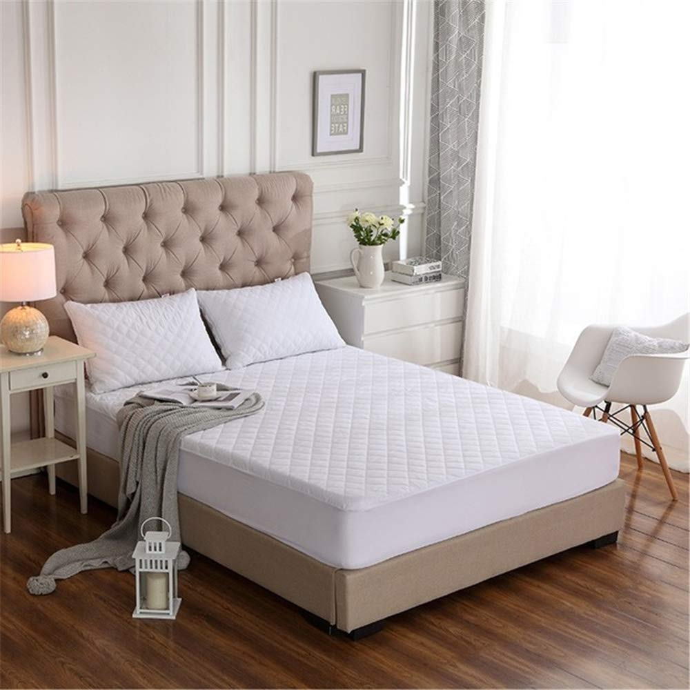 FENGDONG Bed Cover MattressProtectorWaterproofMattress Topper Bed MattressCover by FENGDONG