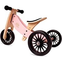 Kinderfeets, Kids Tiny Tot Plus Balance Bike, Adjustable Seat, Puncture Proof Tires, Pedal-Free Training Bicycle for…