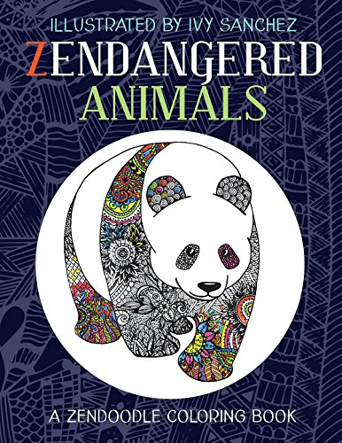 Sanchez Bag - Zendangered Animals: A Zendoodle Book