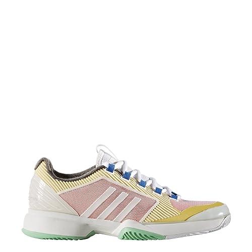 separation shoes 19131 d0183 adidas Stella Mccartney Barricade de la Mujeres upcycled Zapatillas de Tenis  para Mujer, Color Blanco Rosa Amarillo Azul Verde  Amazon.es  Zapatos y ...