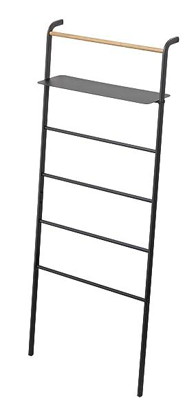 Yama Zaki Ropa Perchero - Escalera de Metal con estantería ...
