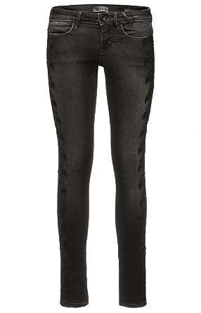 offizielle Seite stylistisches Aussehen heiß-verkaufender Fachmann Guess schwarze skinny-jeans mit stickerei Größe W27-L32 ...