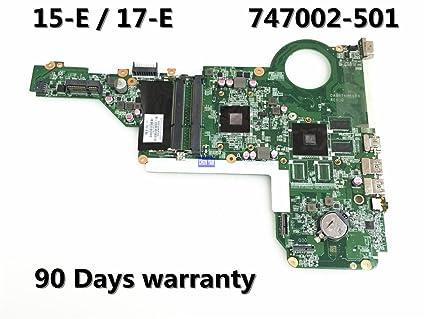 técnicas Liku 747002-501 para la placa madre HP 17 E-17Z-E