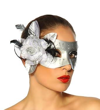 VENEZIA de Burlesque Style Disfraz Carnaval Máscara con flor ...