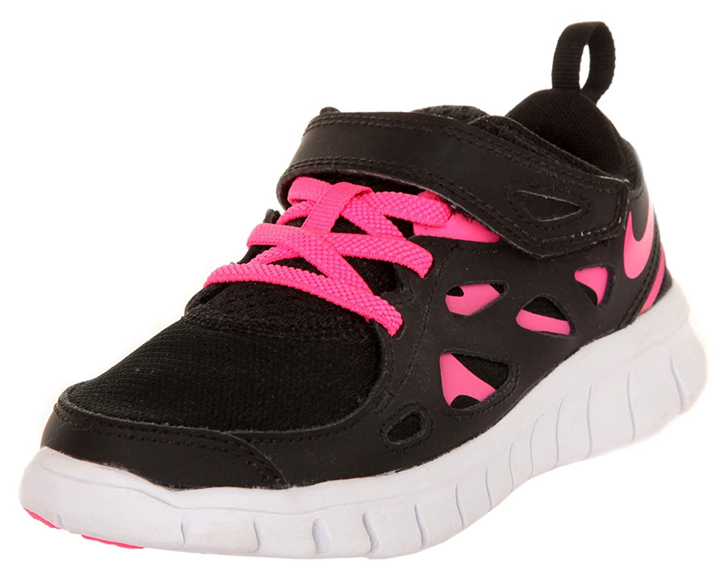 official photos 8f9e0 98a0f Nike Free Run 2 Black White Kids Trainers Size Kids 11.5 UK  Amazon.fr   Chaussures et Sacs